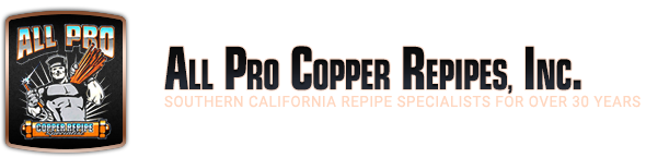 All Pro Copper Repipe